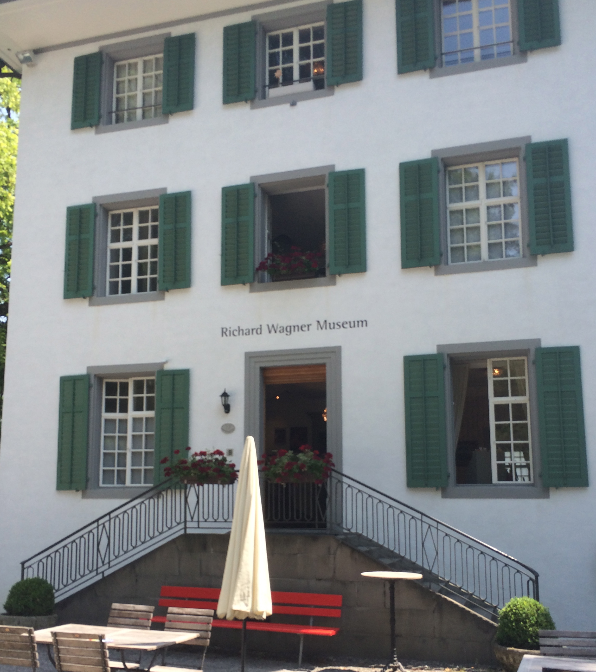 Tribschen in Lucerne, where Wagner lived with Cosima and composed the Ring Cycle.