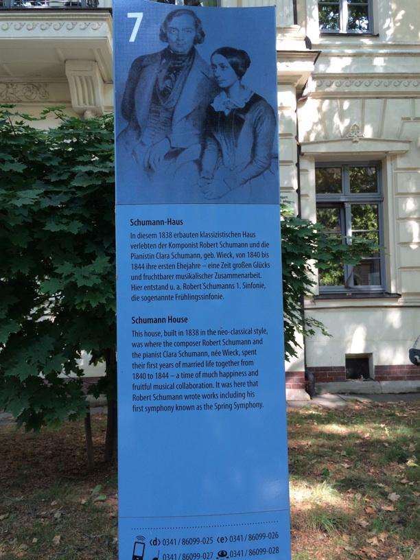 Schumann house in Leipzig