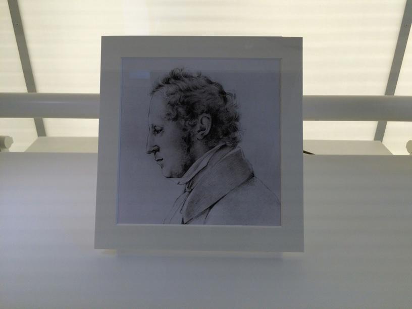 Portrait of Felix Mendelssohn