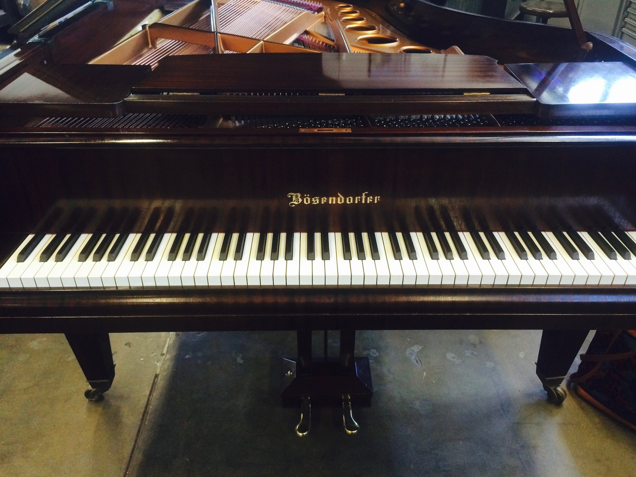 Bösendorfer Model 200, 1955; restored 2016 by Franco Skilan at Precision Piano, North Hollywood