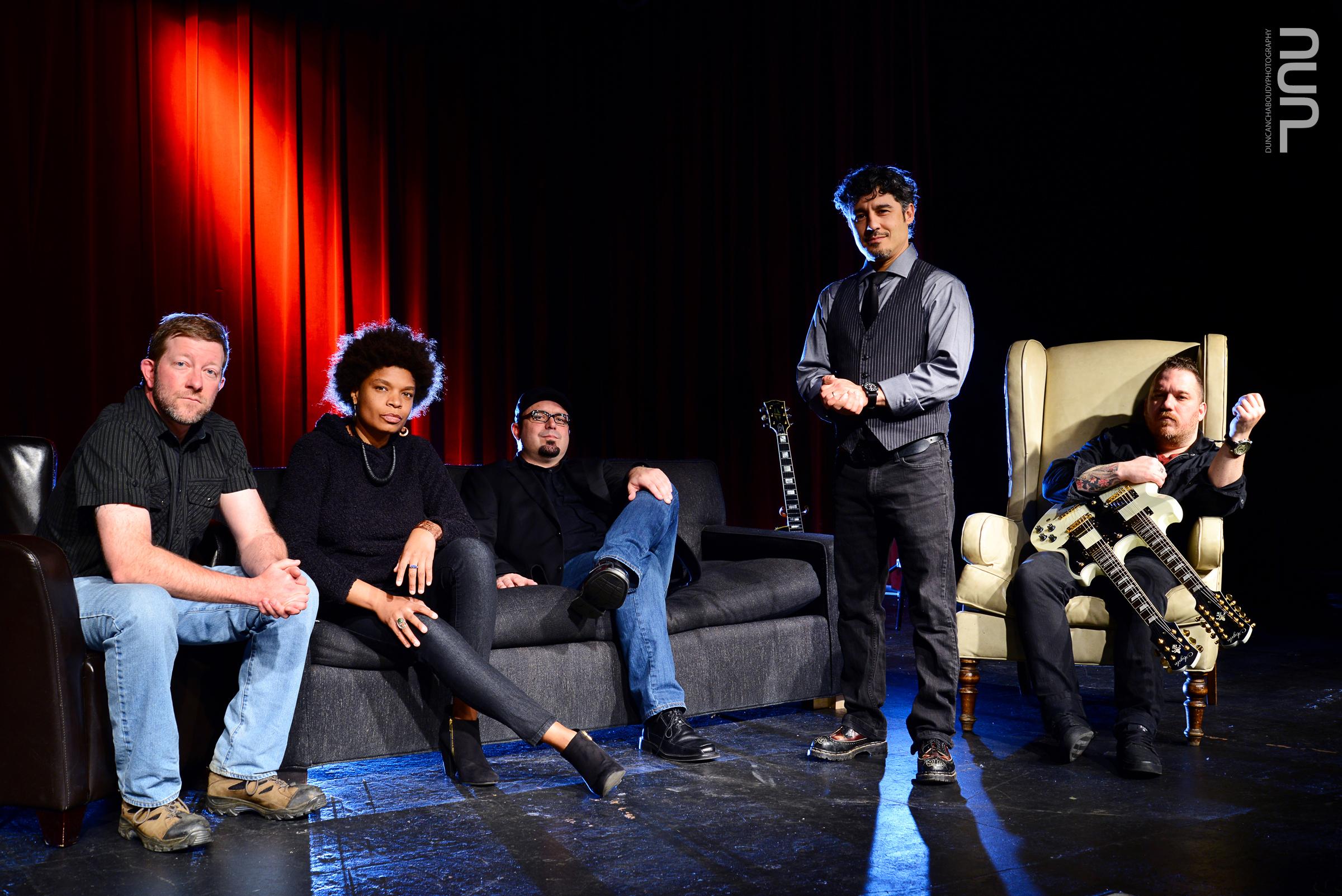 Santiago y Los Gatos Negros at The Orange Peel in Asheville, North Carolina. March 2014