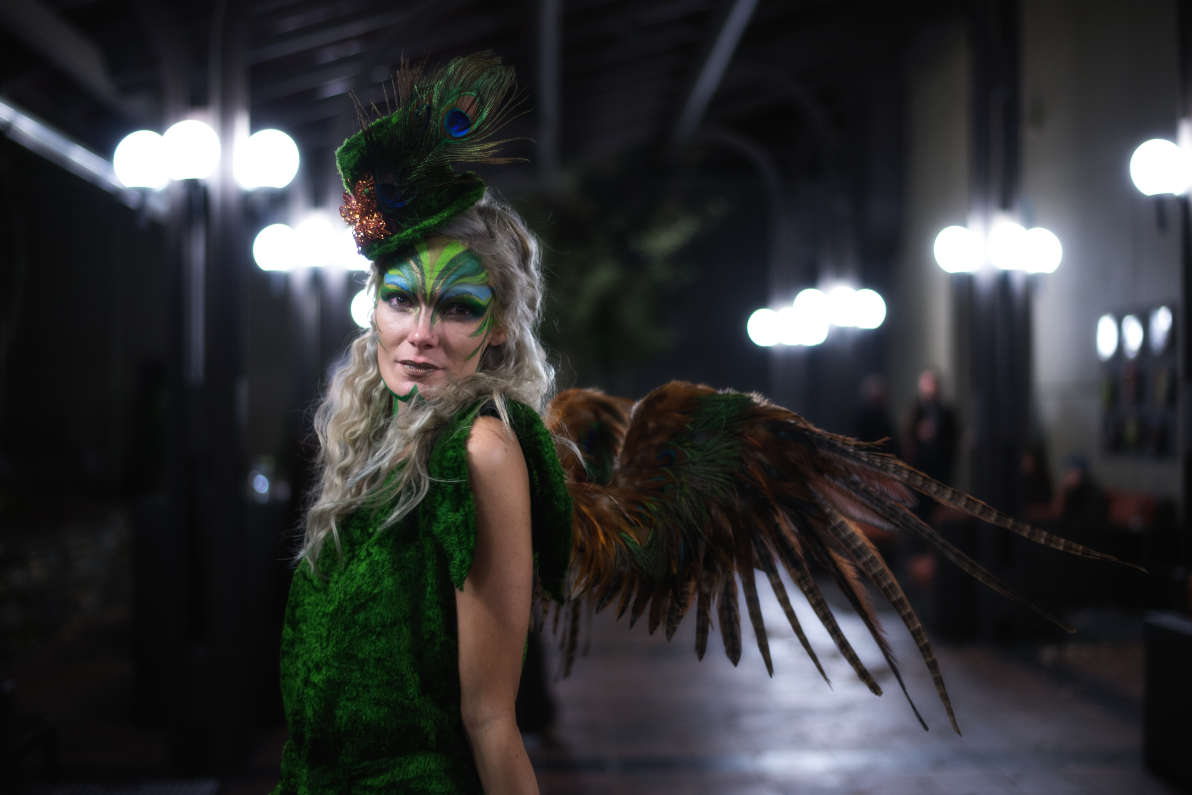 model: Jesse Wieczorek   wings: Sarah Lambert of Uberkio   makeup: Landof Nod   designer: Dawn Sadler / Maid of Mars