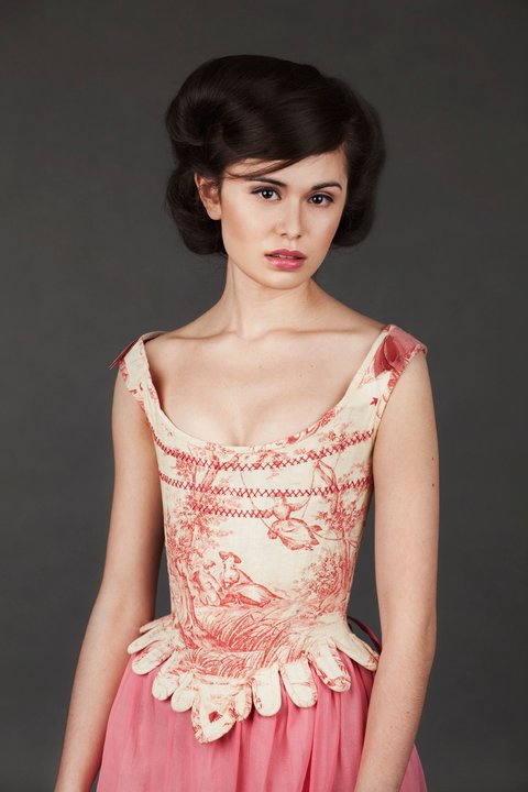 18th Century Toile Stays