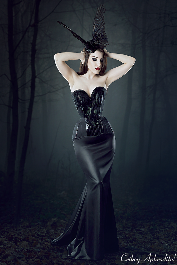 Threnody In Velvet photographed by Iberian Black Arts