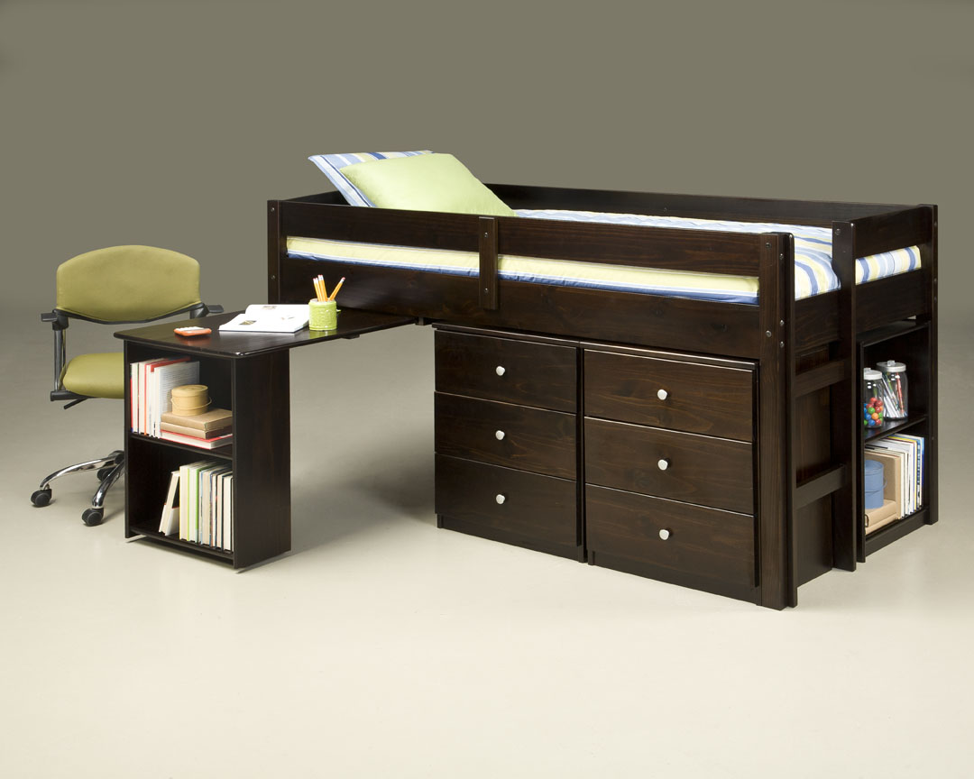 910 Twin Loft over Desk_2Nightstands & 1 Bookcase_open.jpg