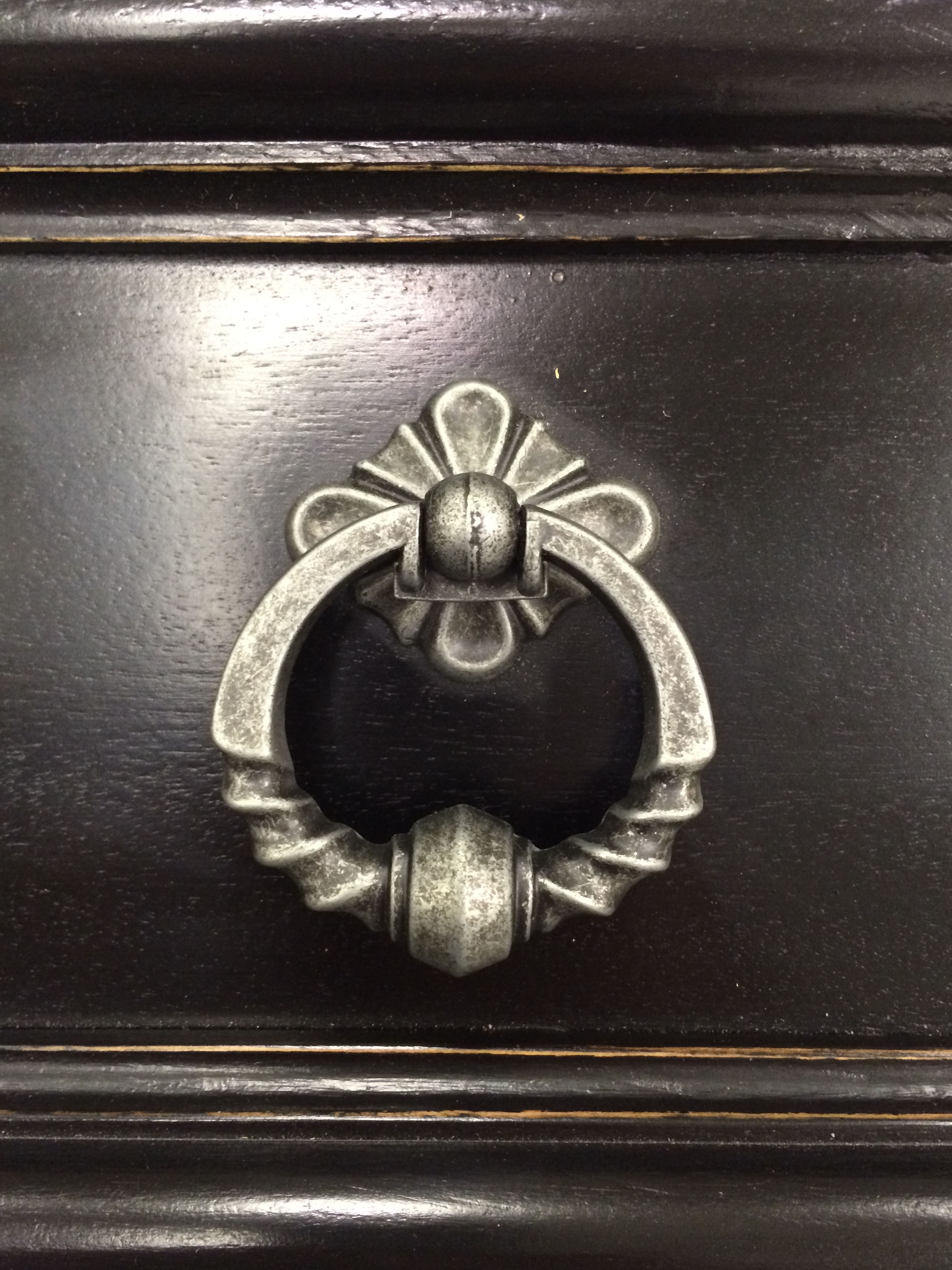 Detail of hardware and finish