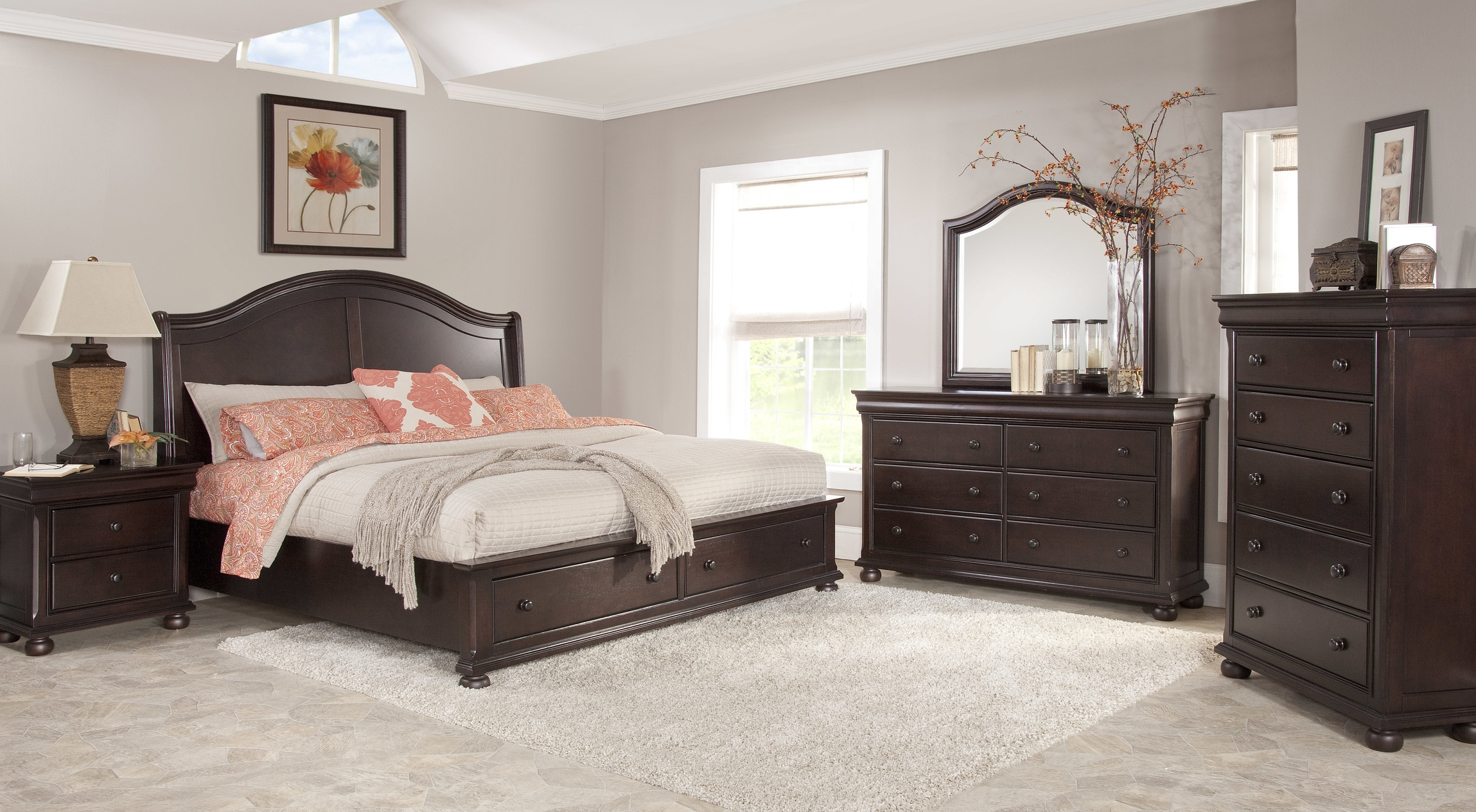 HYDE PARK - 1310   seal brown finish