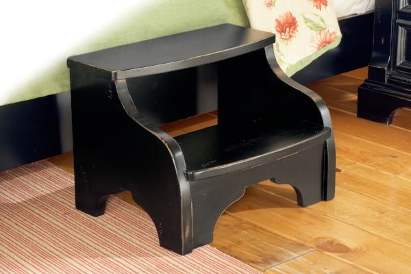 Matching step stool