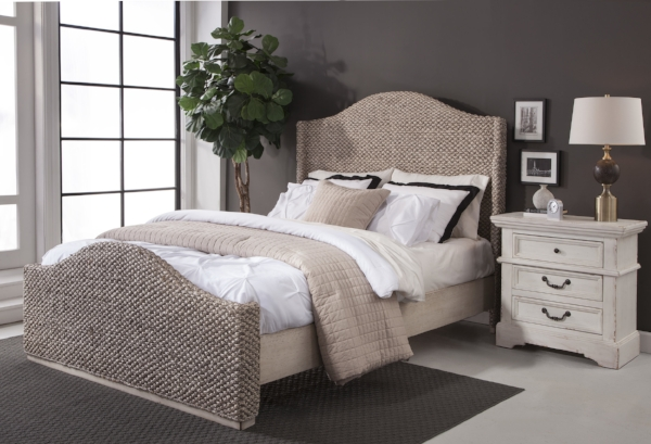 Seaside Bed with 7810 Nightstand
