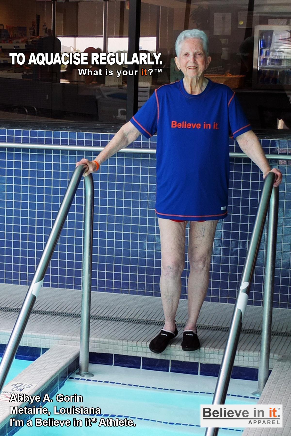 Abbie Gorin Believe in it Athlete
