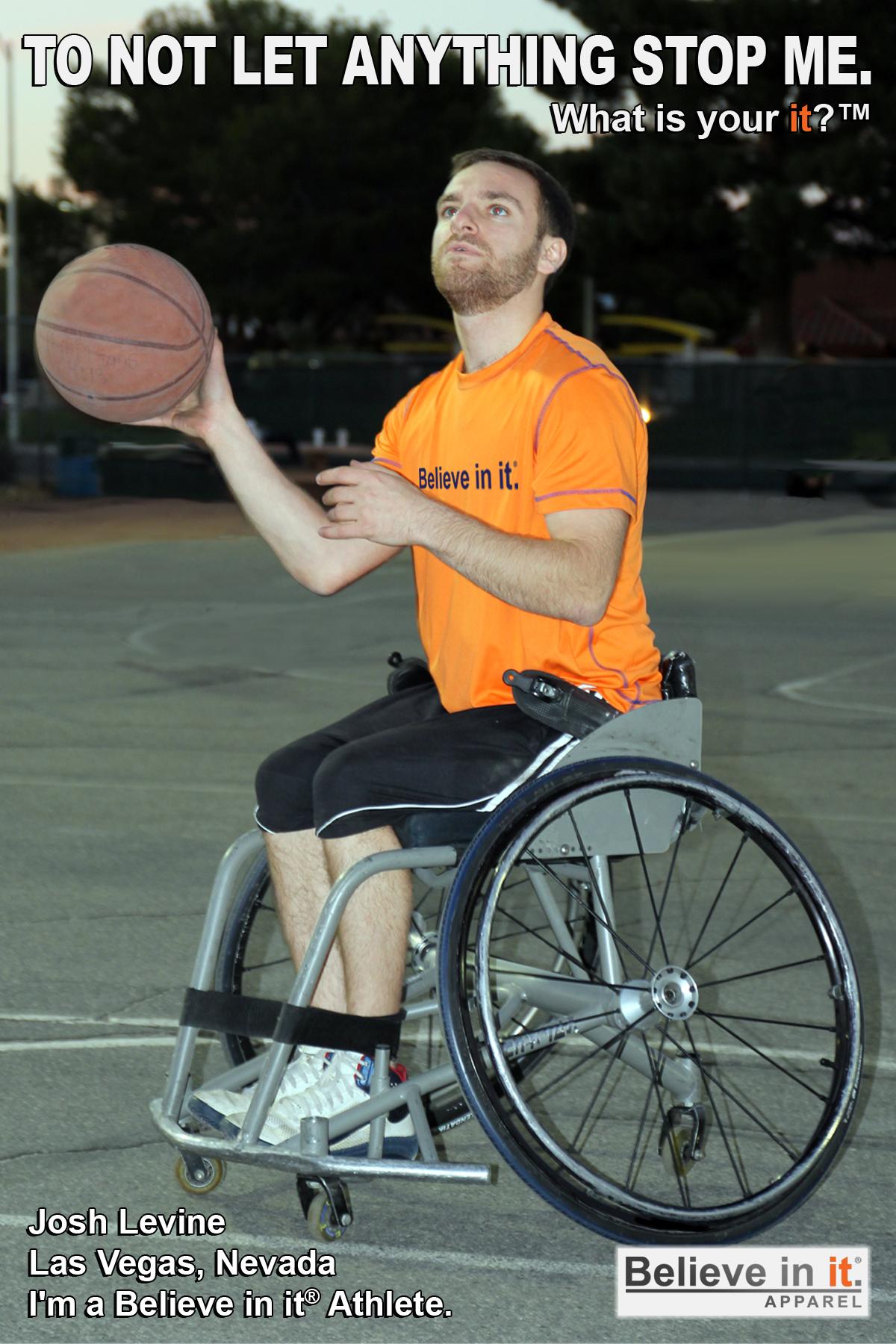 Josh levine Believe in it Athlete