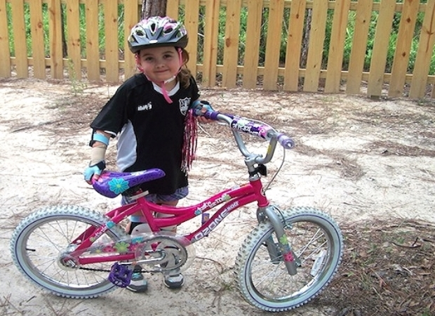 How Positive Attitude Helped a Little Girl Ride Her Bike   April 2, 2014
