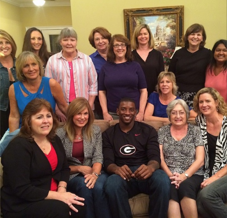 Why a College Football Star Joined a Women's Book Club    October 22 , 2014