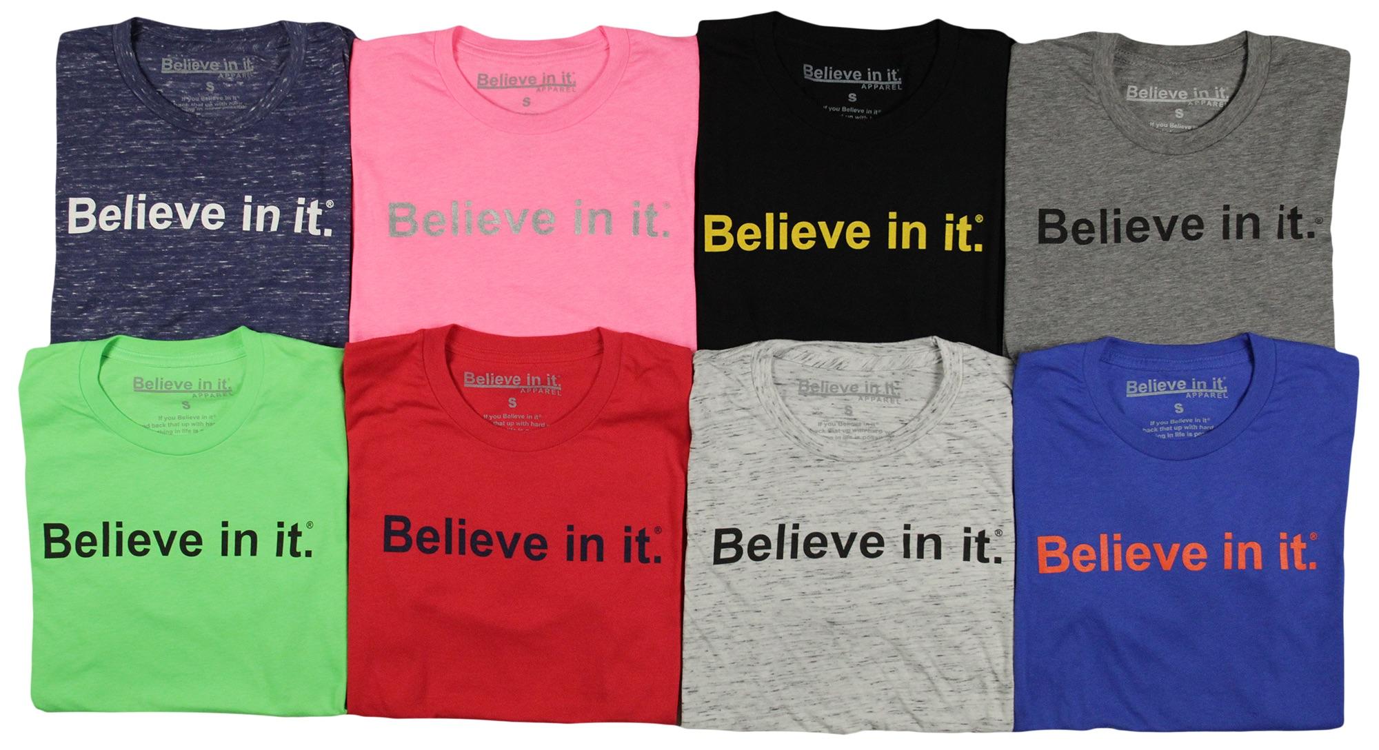 Believe in it® Apparel