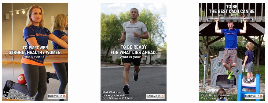 Believe in it® Athlete