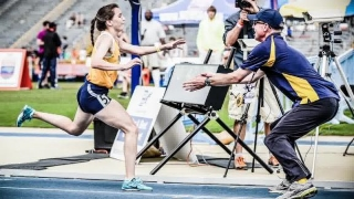 Why This Coach Catches His Runner at the End of Every Race    April 8, 2015