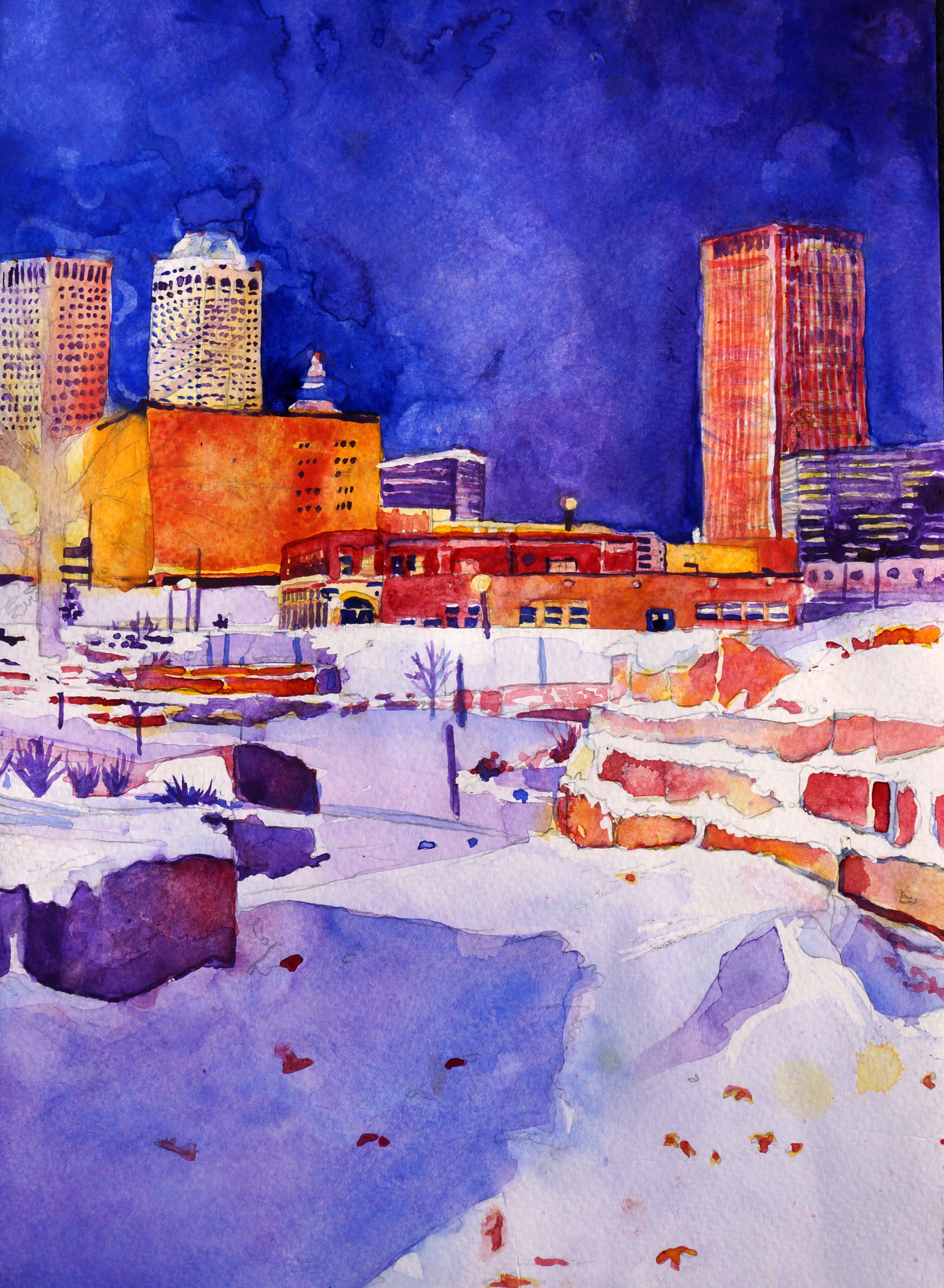 Tulsa in snow first draft