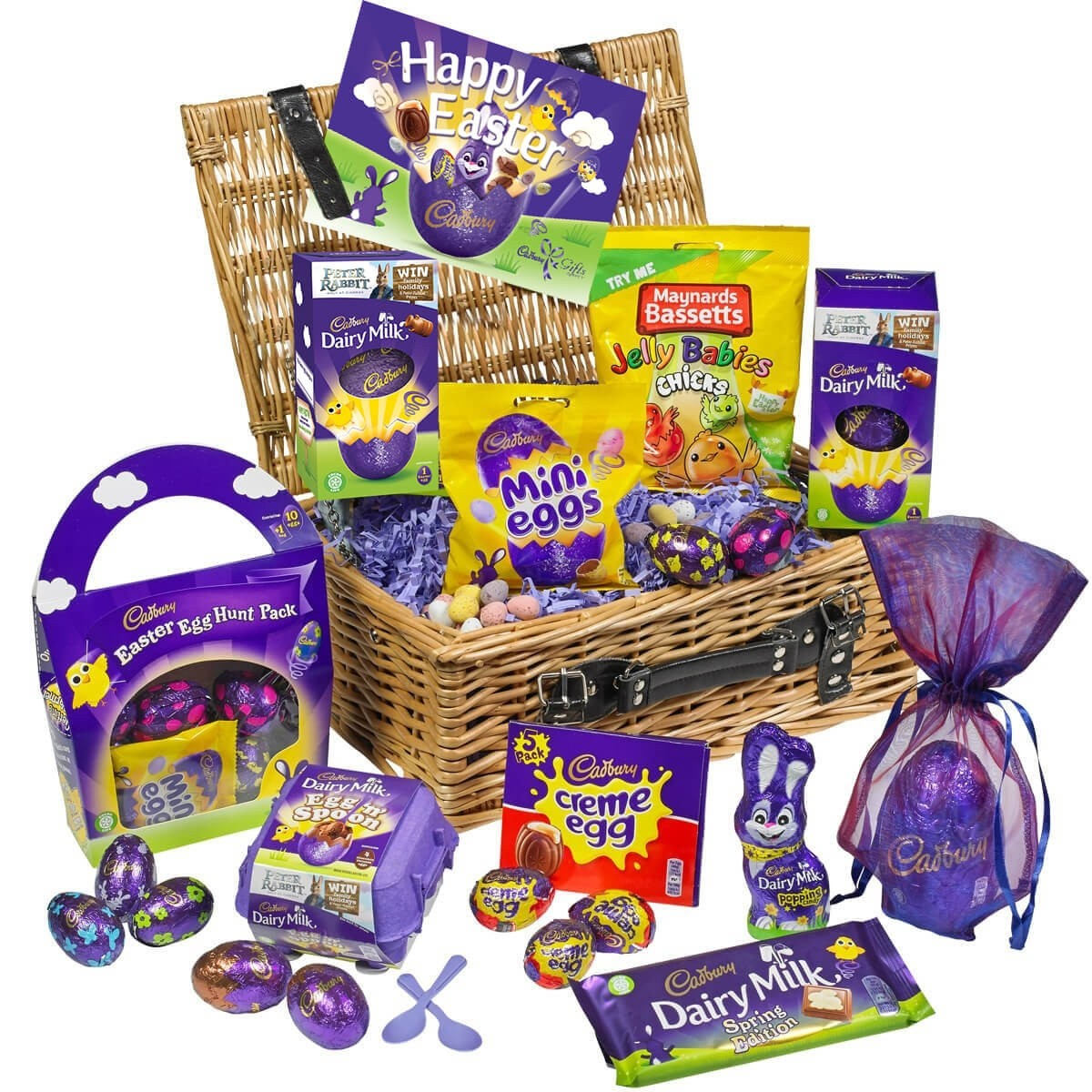 The first 10 people to order will receive a Cadbury Easter Hamper worth £30