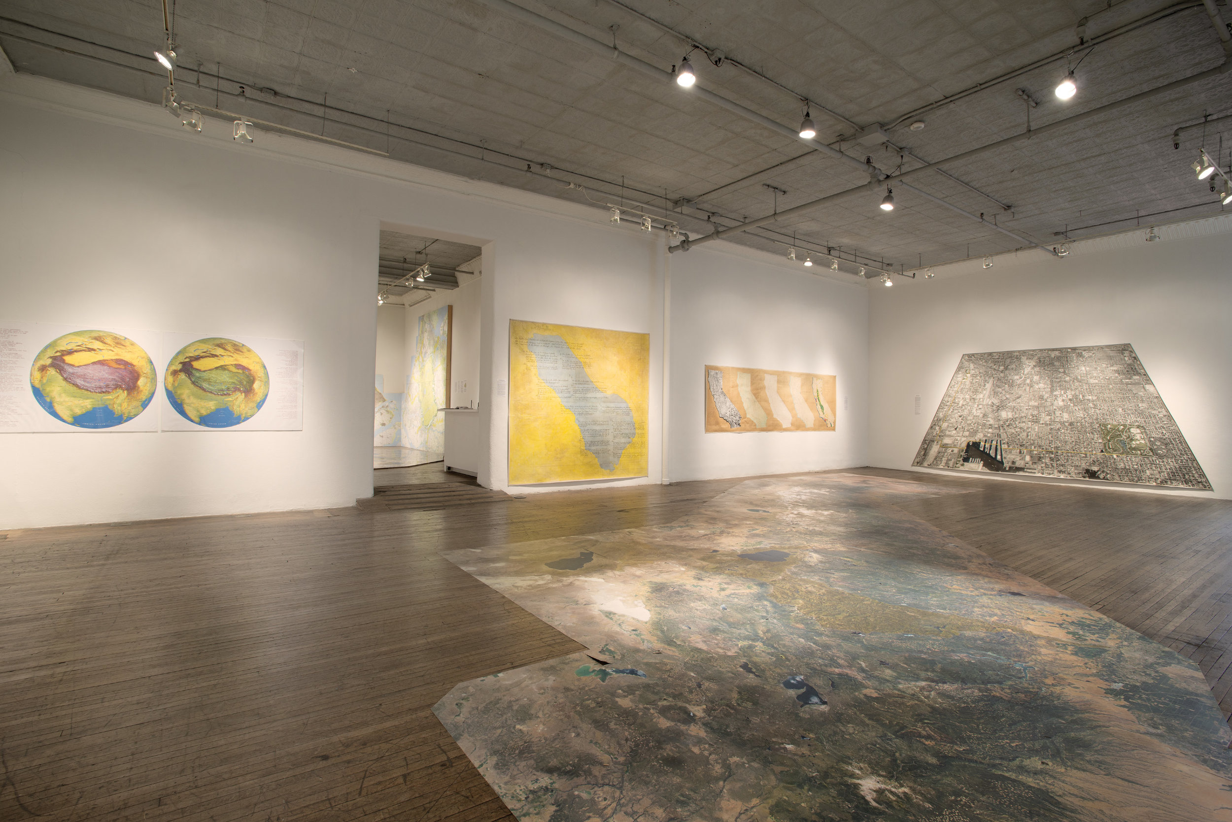 Global Mapping exhibit, 2013