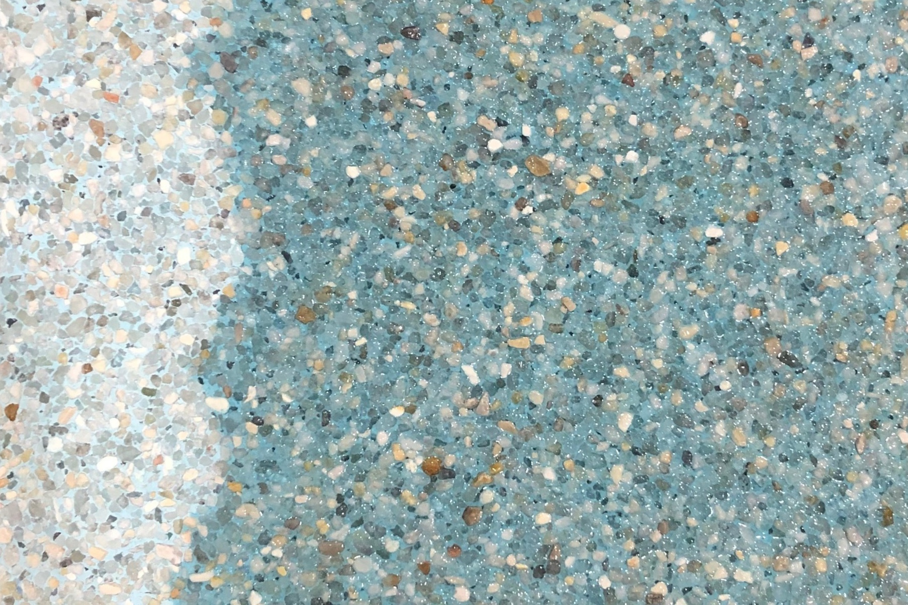 Turquoise - Mini Pebble -