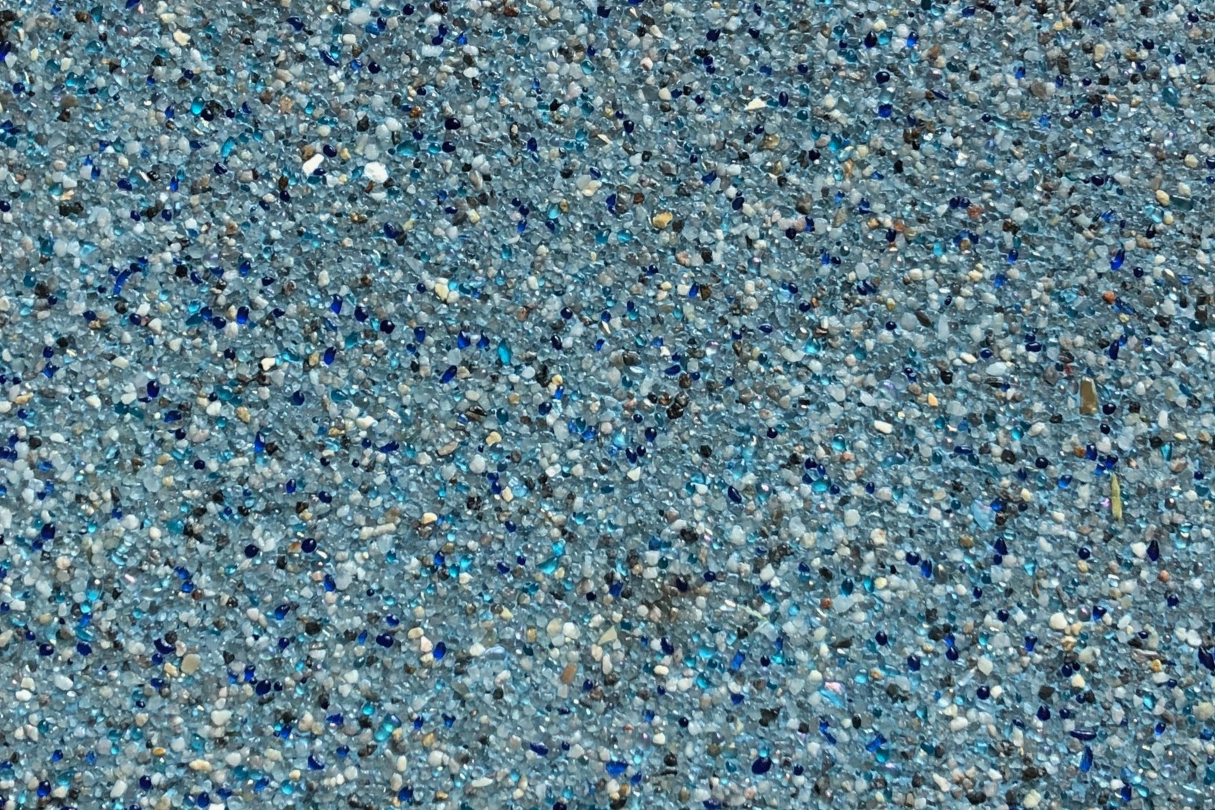 Regal Blue - Micro Pebble with Glass -