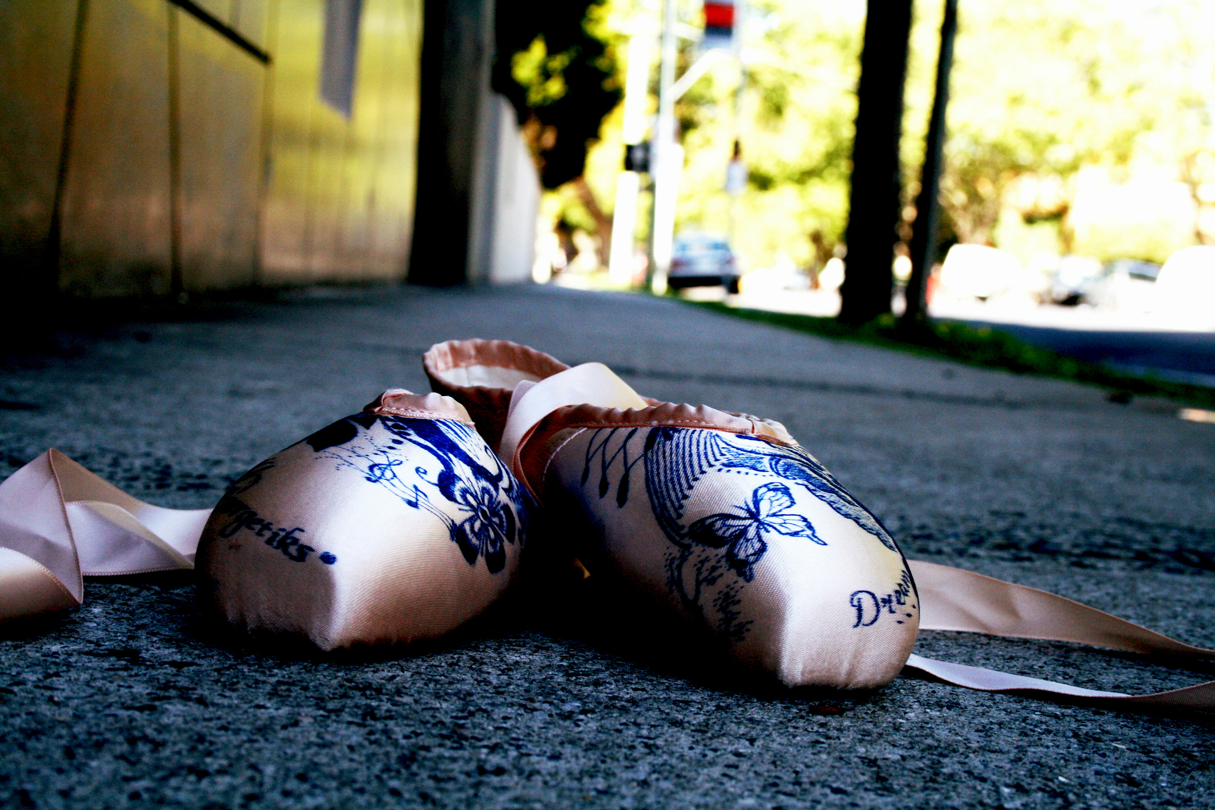 Pointe shoes on street2