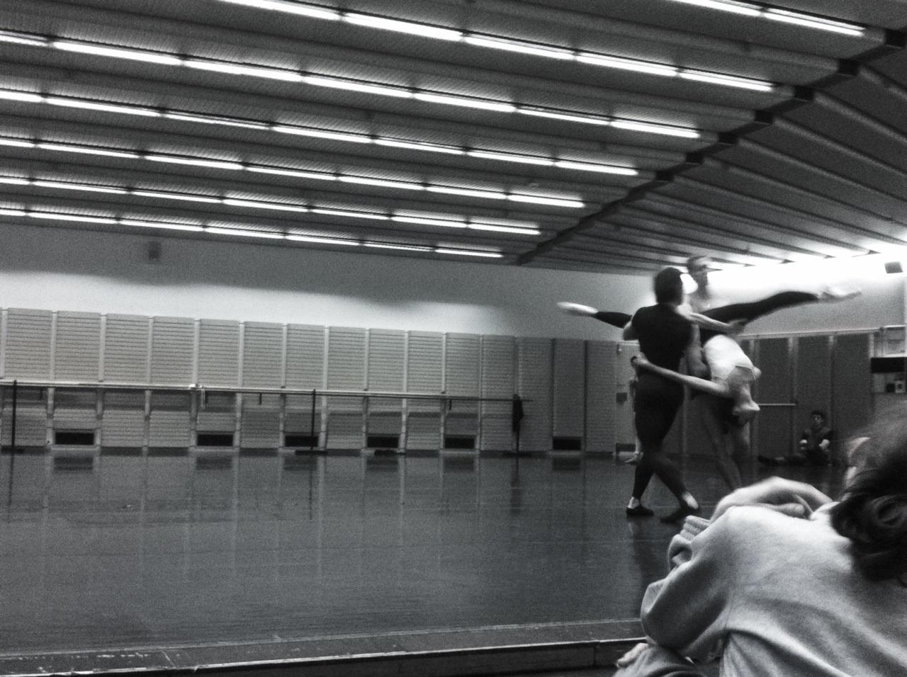 Vanguard rehearsals in full swing.