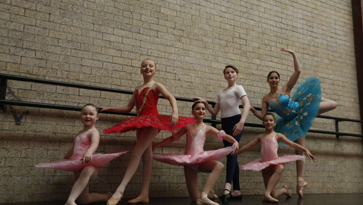 All set: some of the dancers who will be participating this August. Photo: Campbell Town Macarthur Advertiser