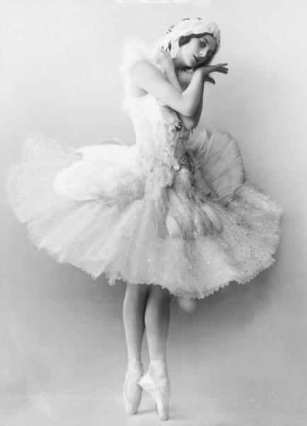 The original Dying Swan - Anna Pavlova