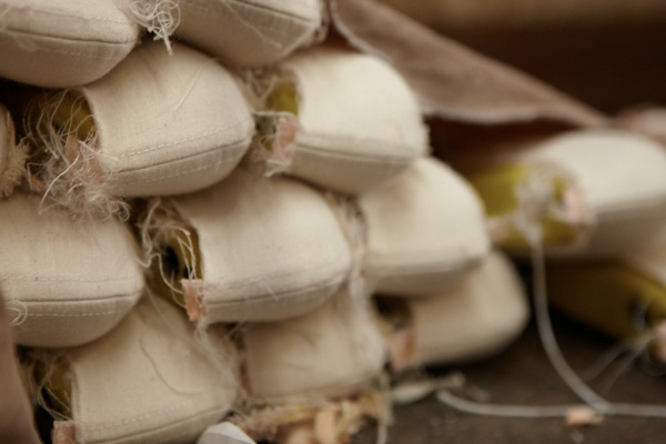 Ballet shoes are manufactured inside-out and then turned upon completion.