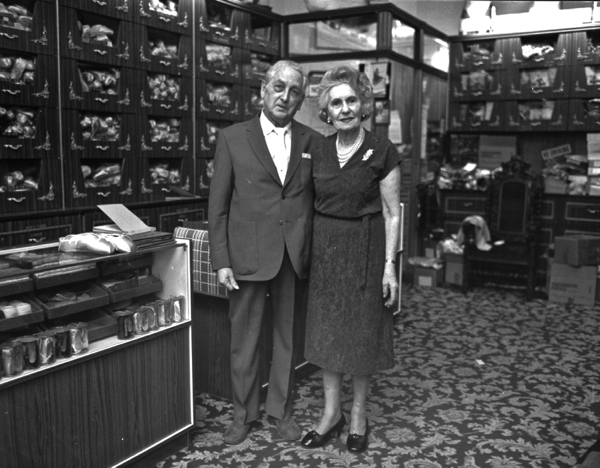 Frederick Freed and his wife Dora who founded Freed in 1920.