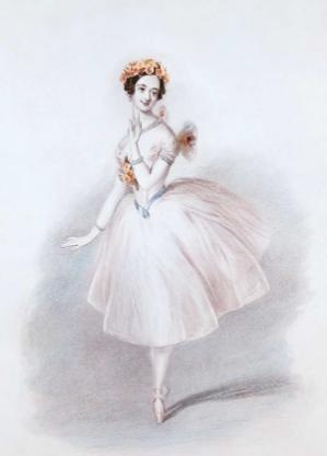 Marie Taglioni (1804 - 1884)