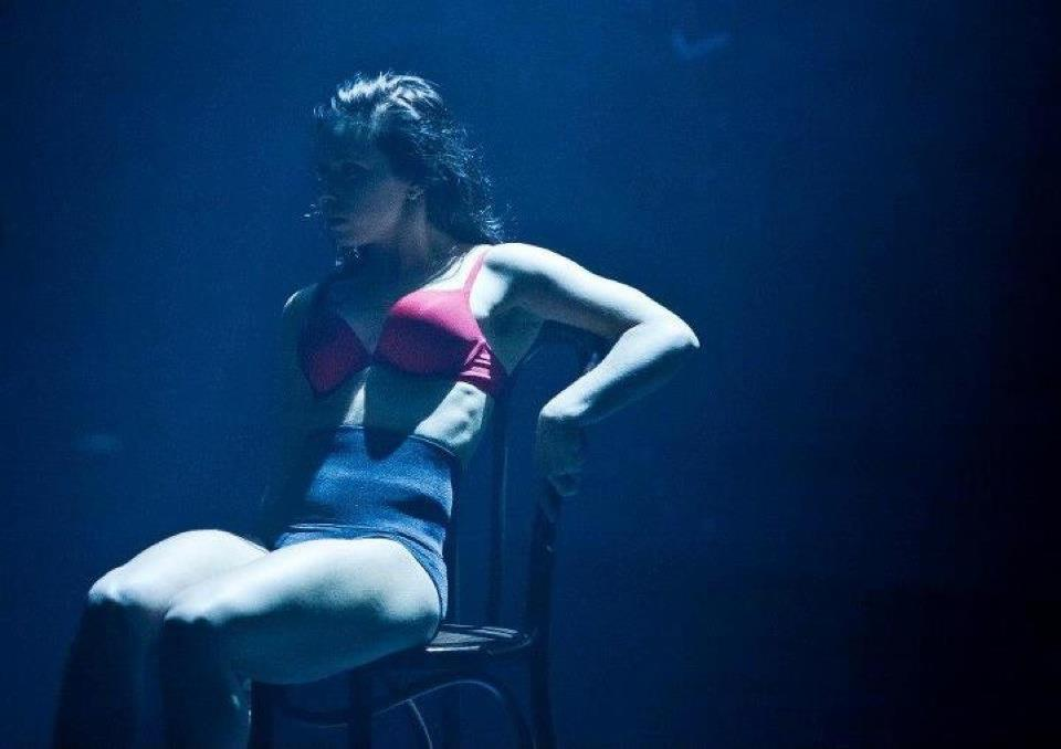 Cat Santos in a shot for 'GENESIS' by the Dream Dance Company