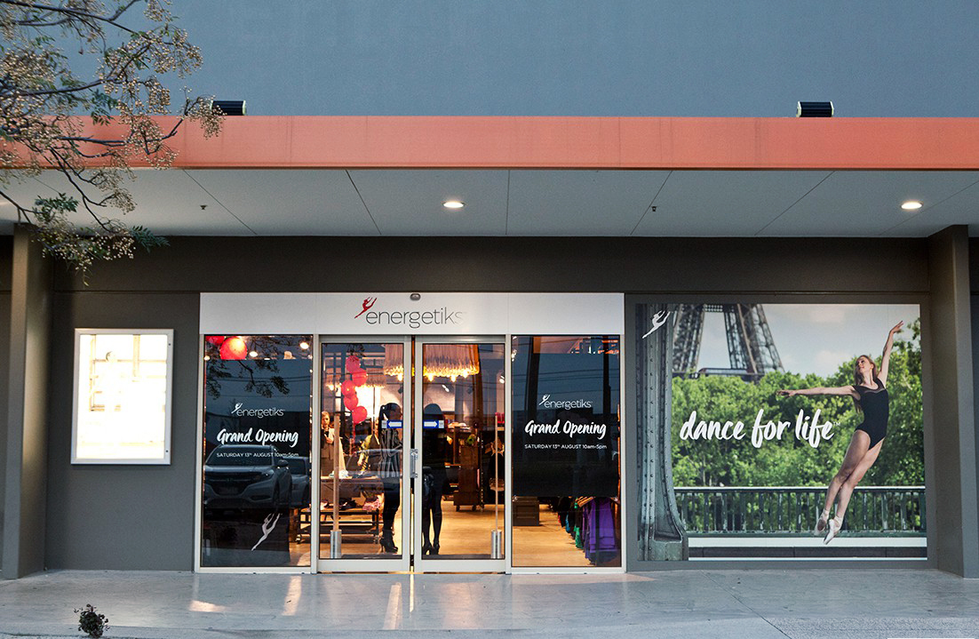 Welcome! The entrance to Energetiks Platinum Store, Shop 3, 444 Warrigal Road
