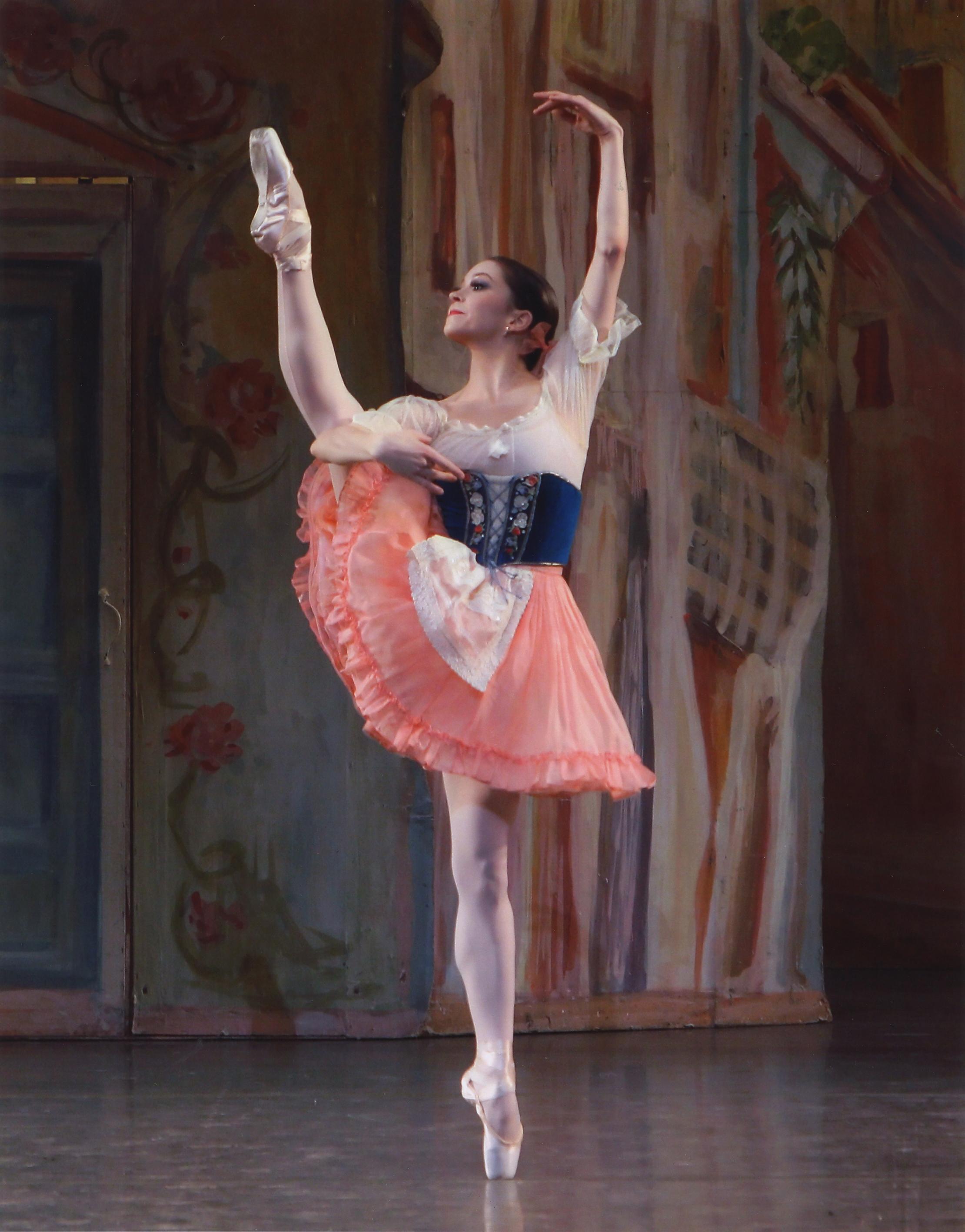 Megan Fairchild in George Balanchine's Coppélia. Photo credit Paul Kolnik