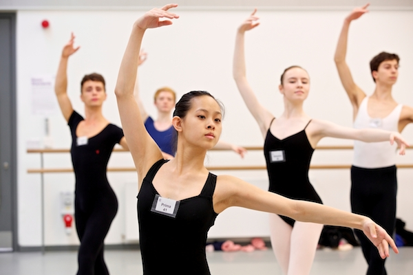 Dancers train at the Genée. Photo by Andy Ross.