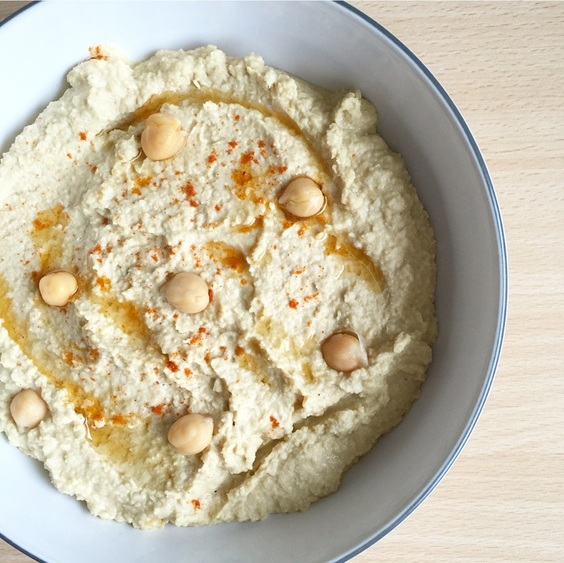 Ballerina Bites' Homemade Hummus Recipe