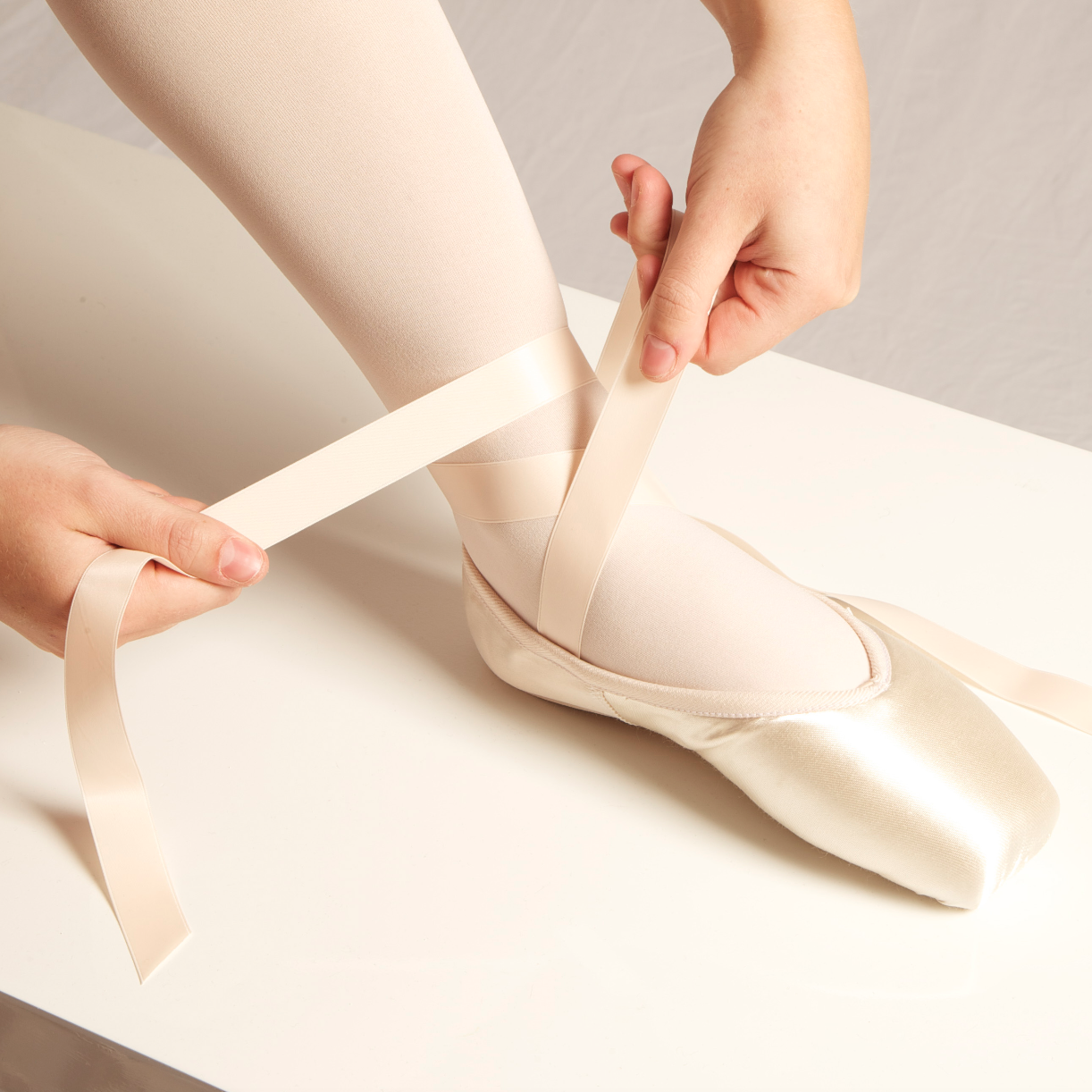 A Guide to Tying your Pointe Shoes