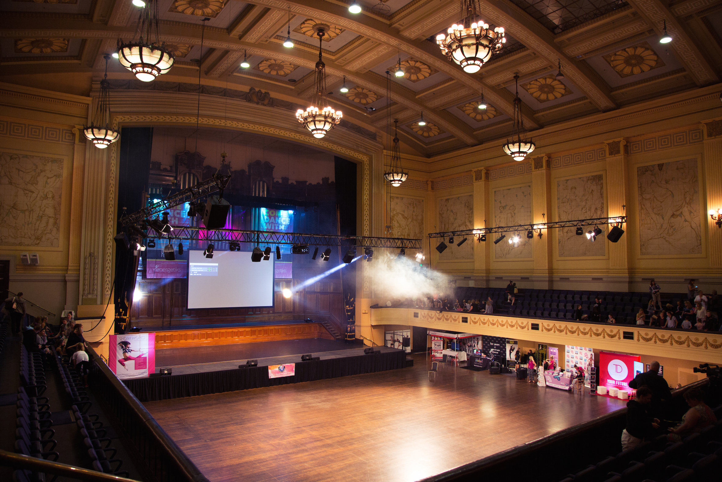 The venue: VDF's Dancefloor and stage for 2017 - The Melbourne Town Hall