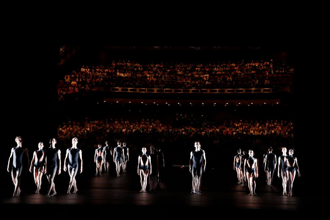 Artists of The Australian Ballet in Tim Harbour's Squander and Glory. Photography Jeff Busby
