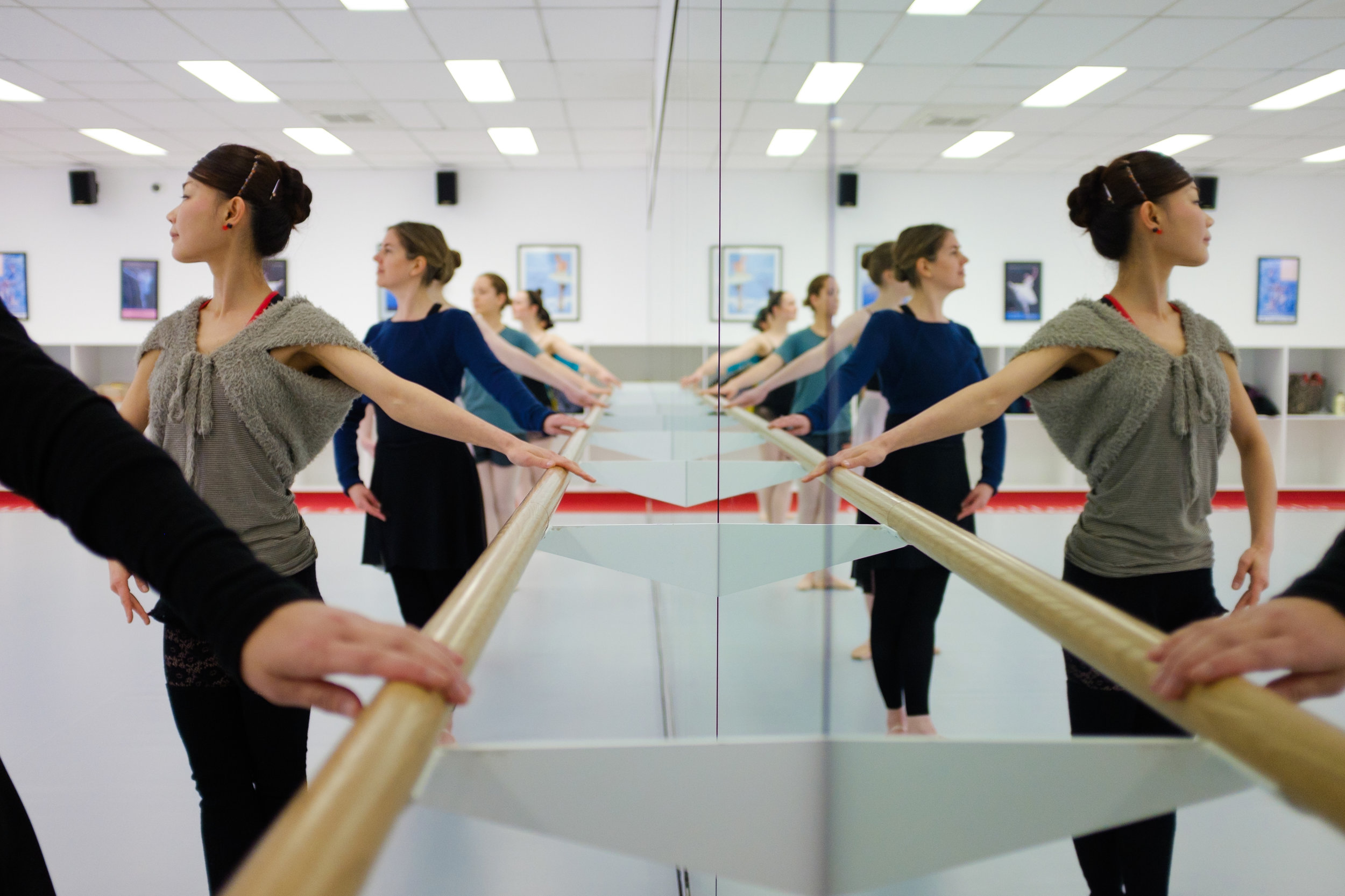 Image reproduced with permission of Elancé Adult Ballet School