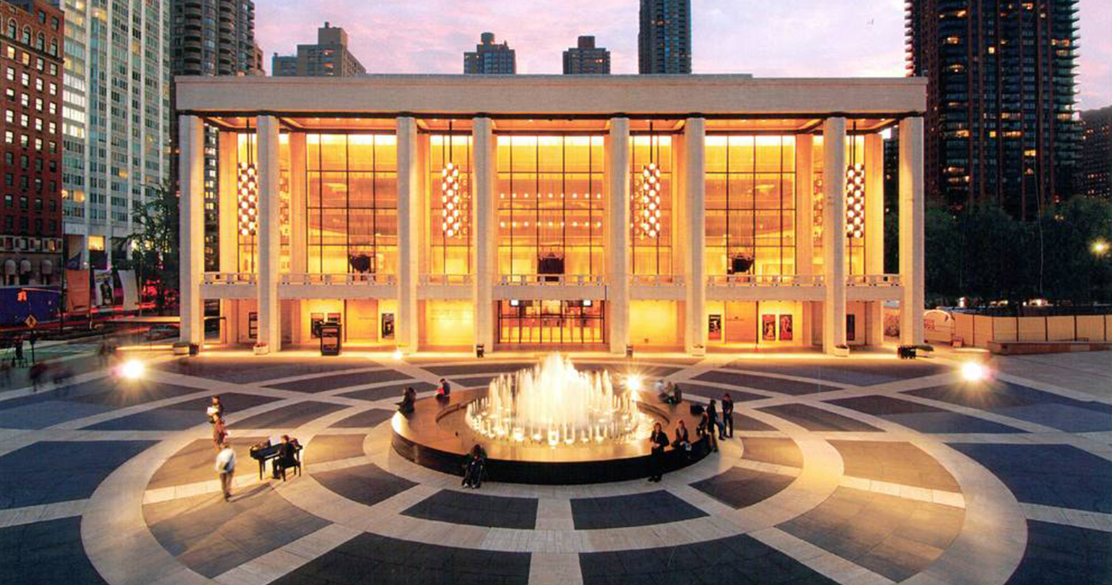 The David Koch Theater in New York, where the YAGP Finals will be held