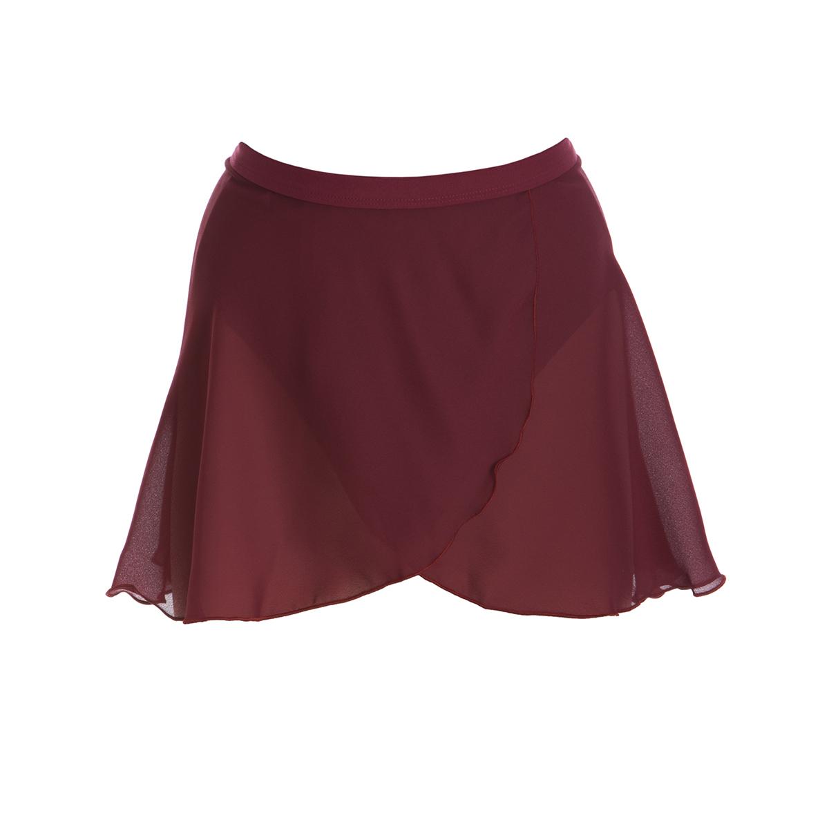 Wrap Skirt - Burgundy