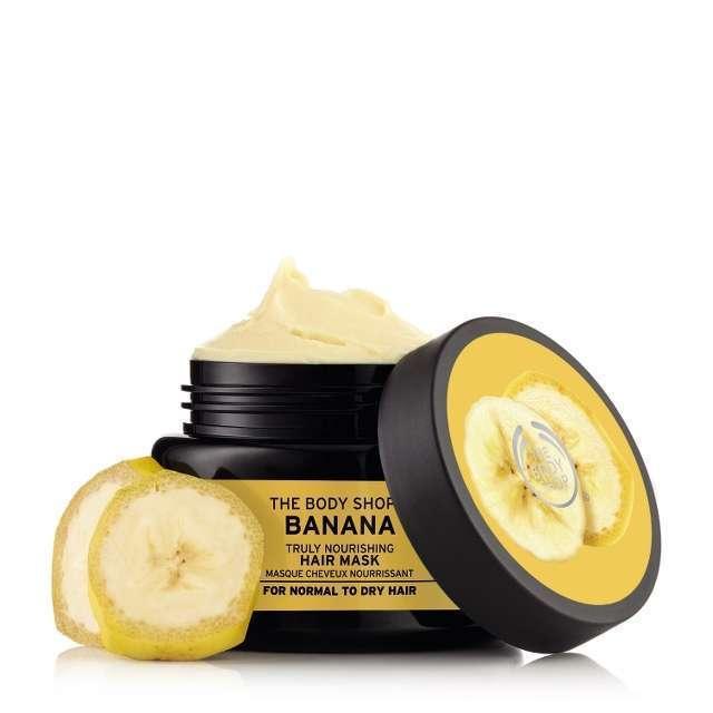 Body Shop Banana Hair Mask