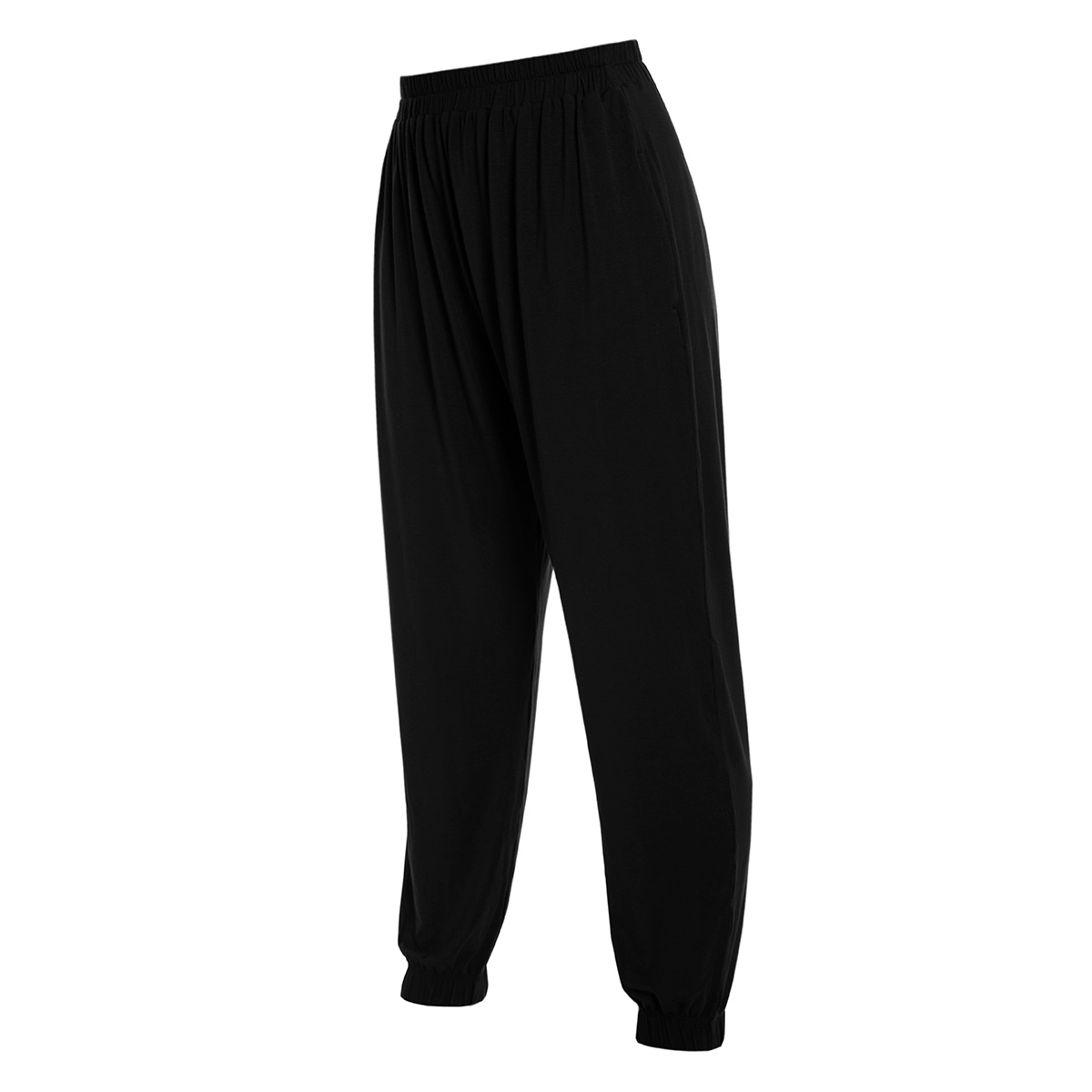Mikayla Slouch Pant in Black
