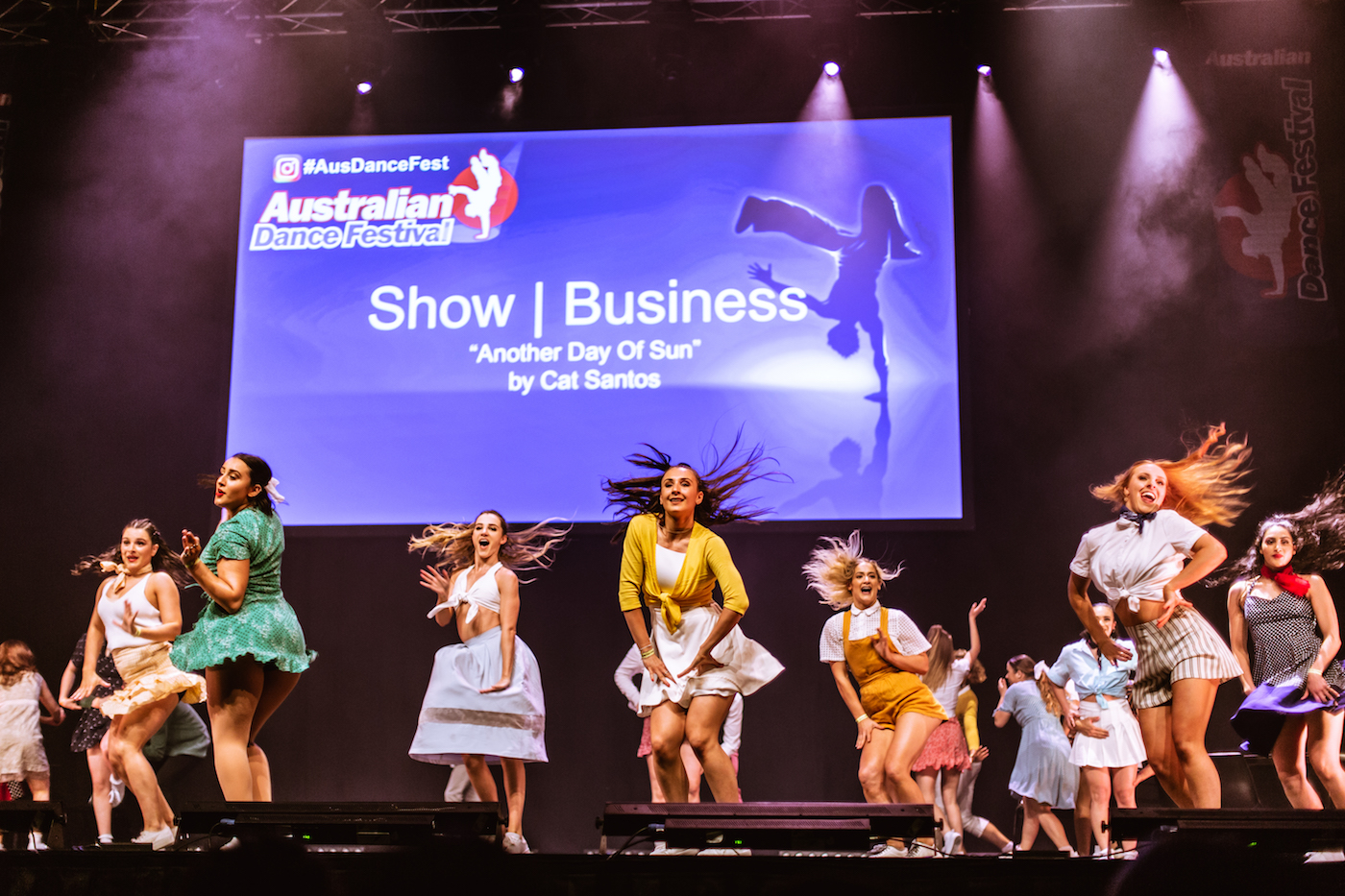 Show | Business performs onstage at ADF