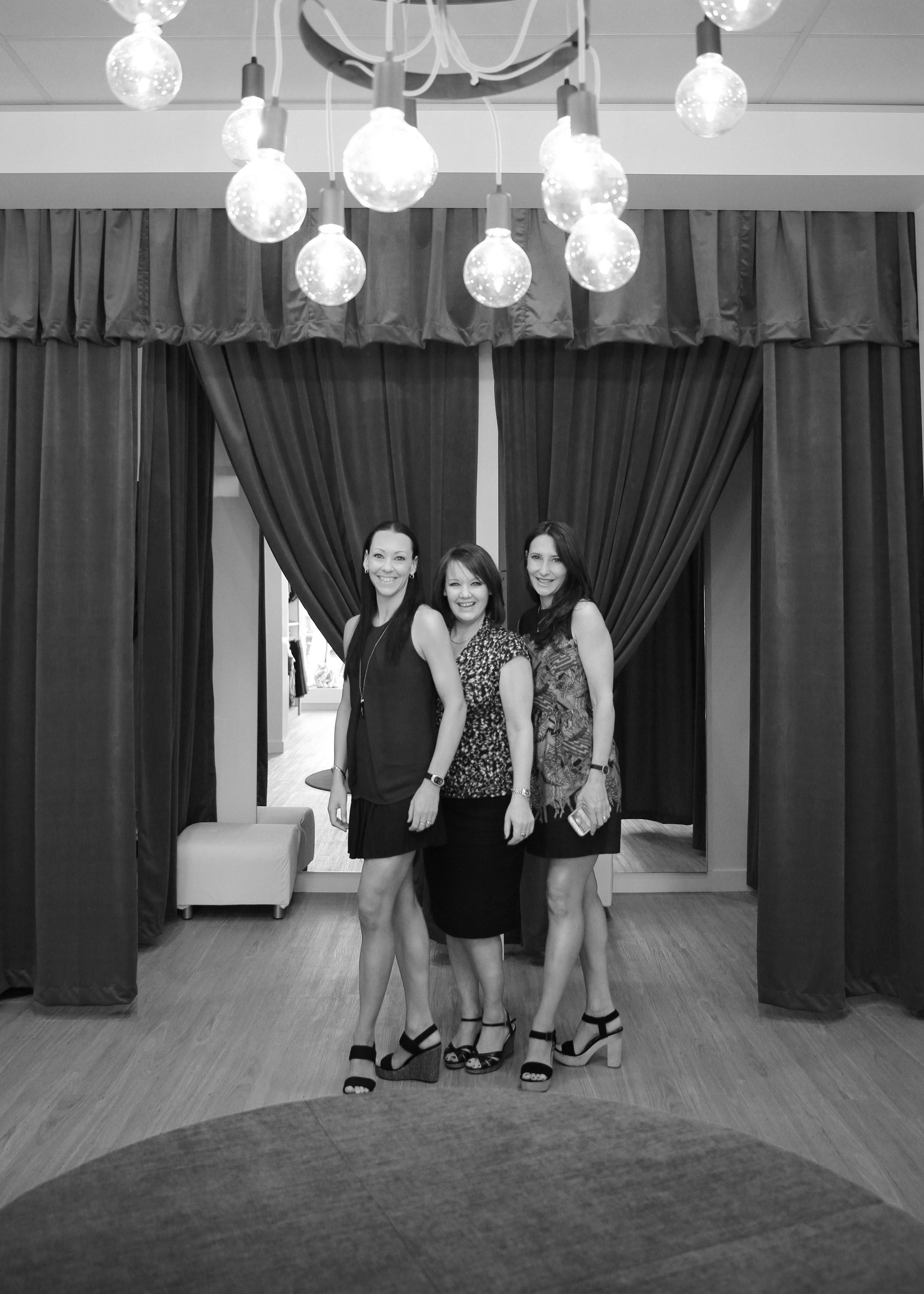Lynda, Gail and Karen at the opening of Energetiks Ivanhoe
