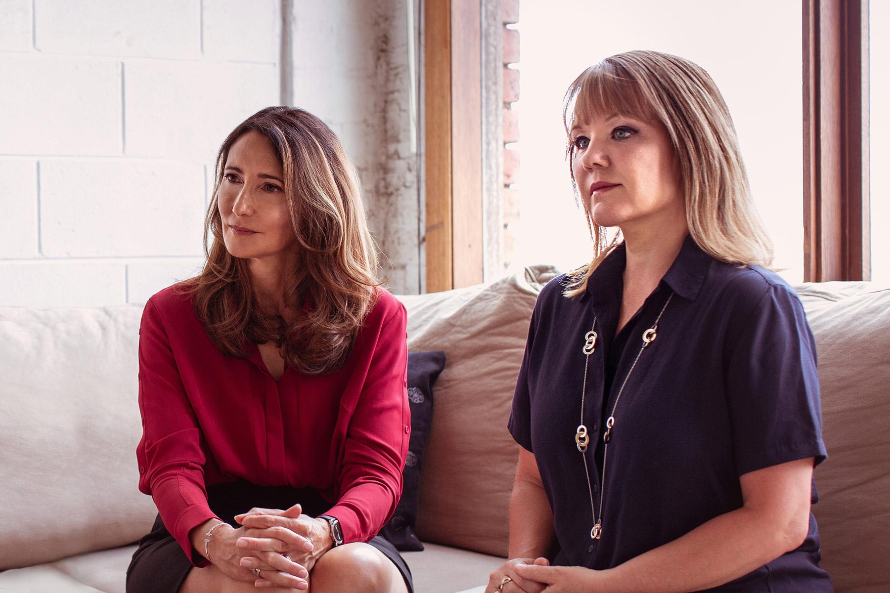 L-R: Karen, Gail