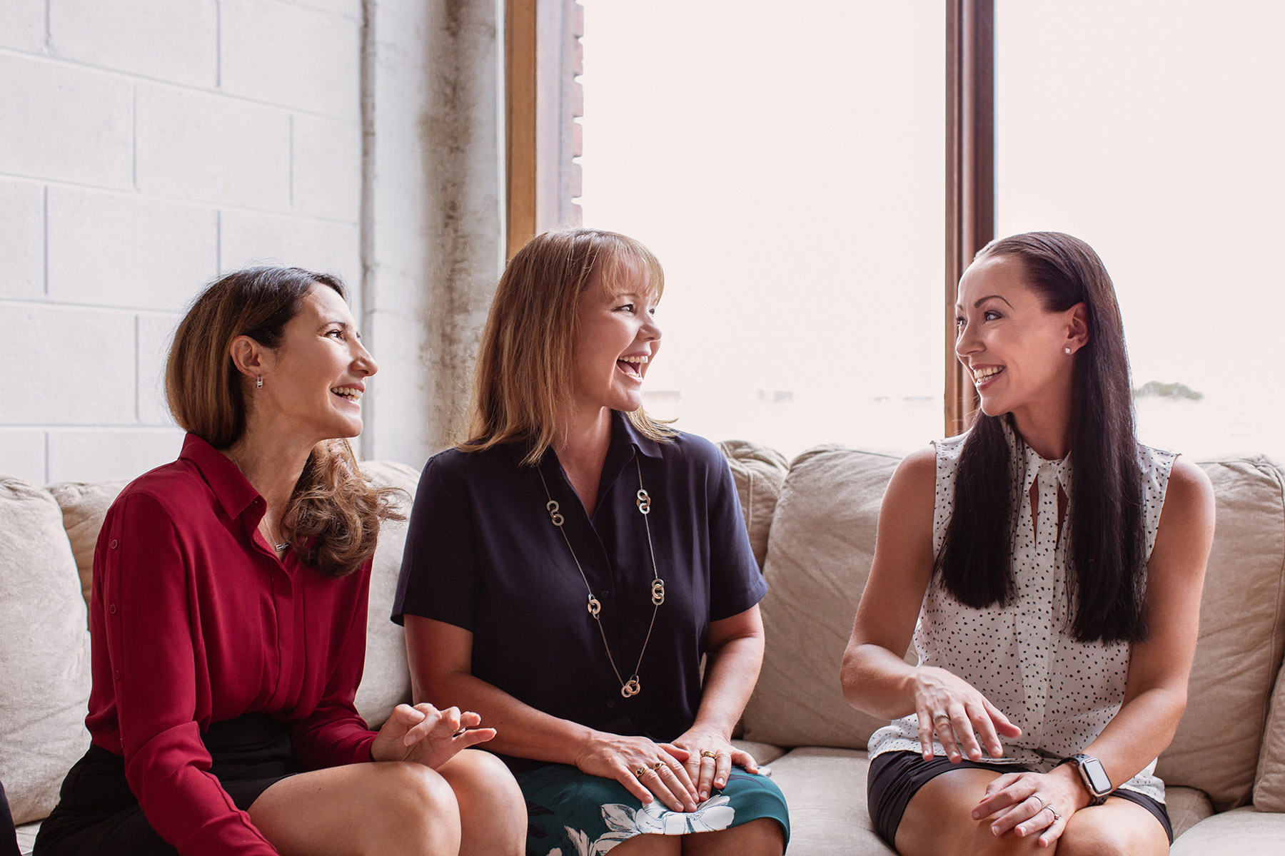 L-R: Karen, Gail, Lynda
