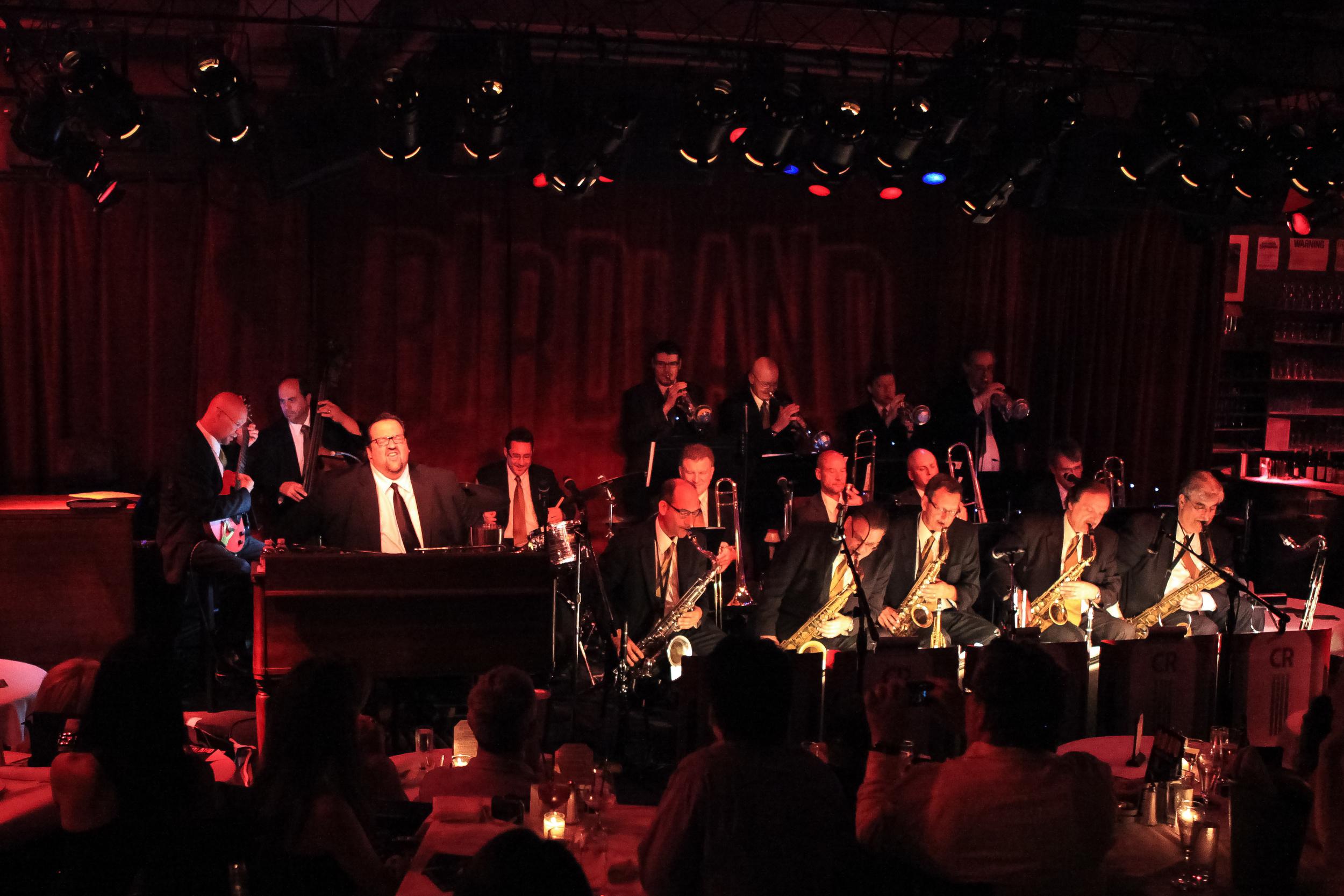 Copy of City Rhythm Big Band & Joey DeFrancesco at Birdland